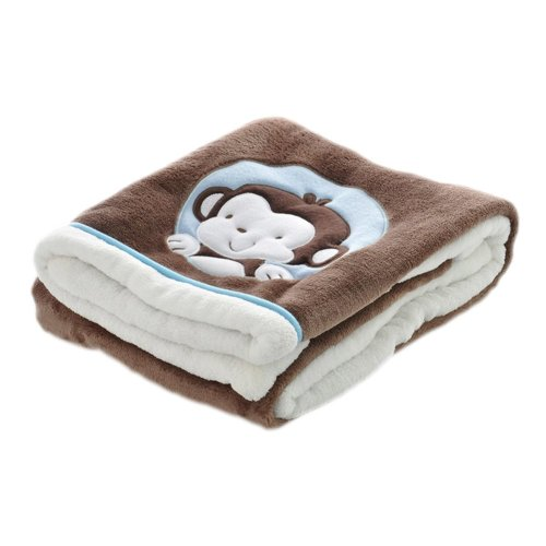Soft Kids Blanket Office/Home Blanket for Nap,Brown,29.5x39.4x1.2 inches #17