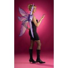 Purple & Silver Ladies Fairy Wings