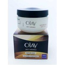 4 x Olay Anti-Wrinkle Mature Skin Night Cream 50ml
