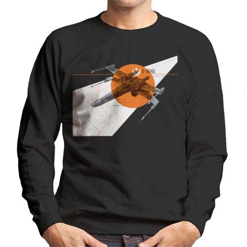 Star Wars X Wing Starfighter Men's Sweatshirt
