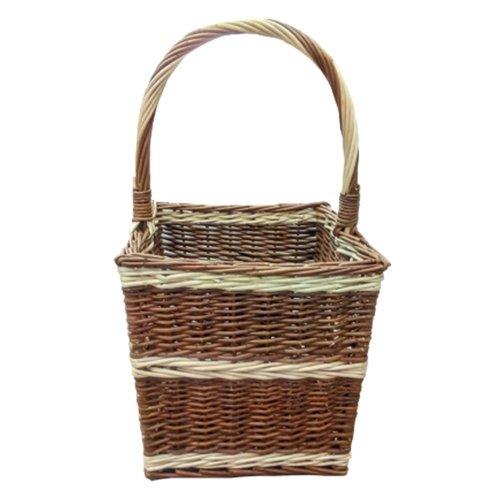 Beaufort Rectangular Wicker Shopping Basket