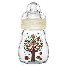 Mam Feel Good Glass Bottle - 170ml - Unisex
