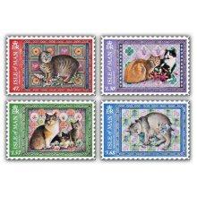 Ivory Manx Cats Set (Mint)