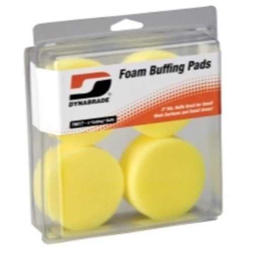 Dynabrade Products DYB76017 3in. Yellow Foam Cutting Pads