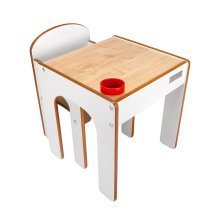 FunStation Table and Chair Set (White)
