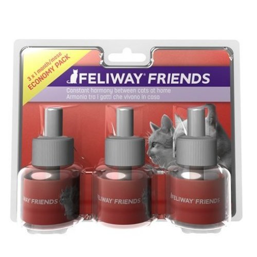 FELIWAY Friends 30 Day Refill, Pack of 3
