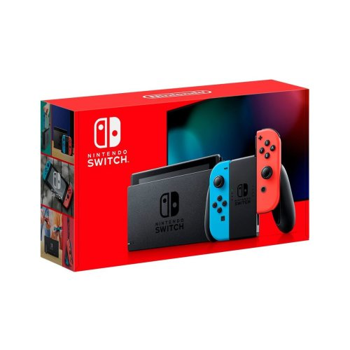 2019 Nintendo Switch Game Console - Blue/Red | Nintendo Switch V2