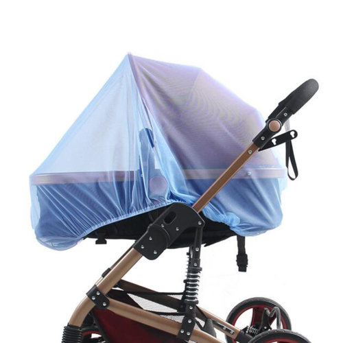 Soft Insect Netting Mosquito Nets for Baby Strollers & Cribs Cover- Blue
