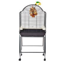 Rainforest Bird Cage Brasil II On Stand, suitable for Cockatiels, Parakeets
