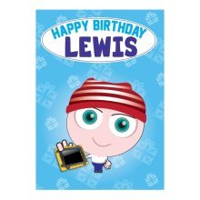 Birthday Card - Lewis
