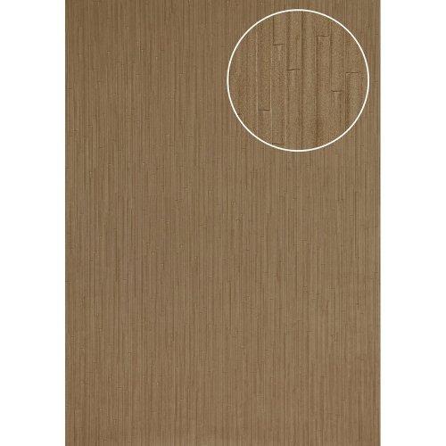 Atlas INS-5078-6 Embossed wallpaper shimmering brown-grey beige 7.035 sqm