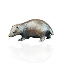 Bronze Badger - Butler & Peach - 2064