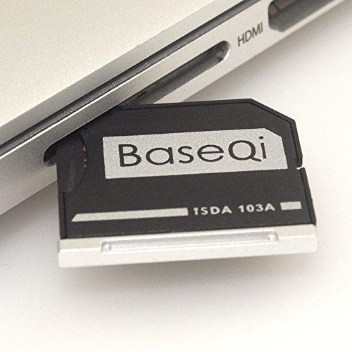 "BASEQI microSD Adapter for MacBook Air 13"" and MacBook Pro 13""/15"" (Non-Retina)"