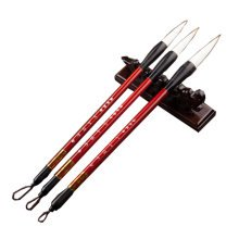 High Quality Chinese Calligraphy  Brush Pen Sets of 3(red) (Whithout Pen Holder)