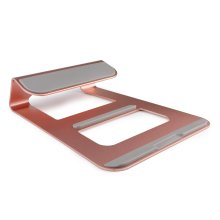 Premium LAPTOP Stand Solid Aluminum Alloy Stand Mount for Apple Macbooks & Windows - Pink