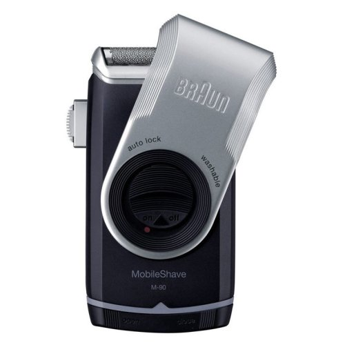 Braun Mobile Shaver with Precision Trimmer (M-90)