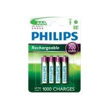 Philips Rechargeable Batteries - Type AAA