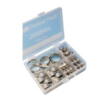 Assorted M/S Hose Clips - Box of 32