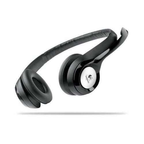 Logitech ClearChat Comfort Binaural Black headset