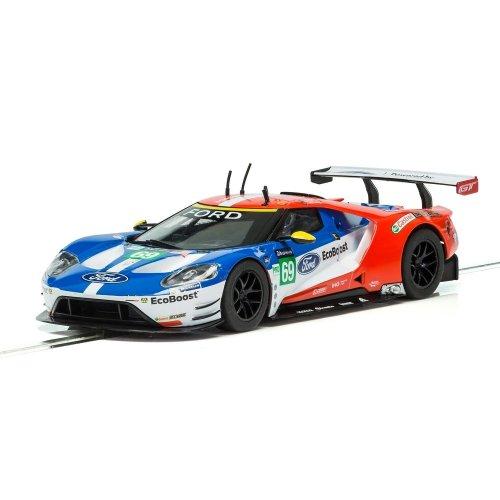 Scalextric C3858 Ford GT GTE No.69 Le Mans 2017 Slot Car