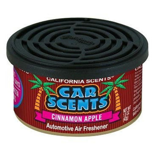 CALIFORNIA SCENTS AIR FRESHENER HOME OFFICE CAR VAN BUSINESS TAXI BUS CAB TRUCK[CINAMMON APPLE]