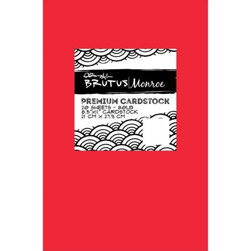 "Brutus Monroe 80lb Premium Cardstock 8.5""X11"" 20/Pkg-Wagon"