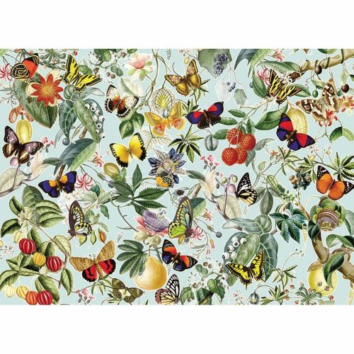 CBL80196 - Cobblehill Puzzles 1000 pc - Fruits and Flutterbies