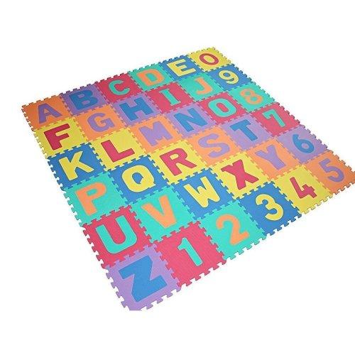 NEW LARGE SIZE 40 PC FOAM ALPHABET CHILDREN SOFT JIGSAW PUZZLE