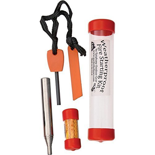 Bellows Fire Starting Kit