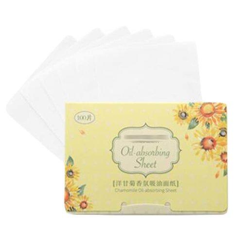 Chamomile Women Portable Oil Blotting Paper for Face, 300 Sheets