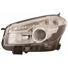 Nissan Qashqai 2010-2014 Headlight Headlamp Passenger Side N/s