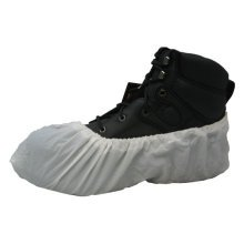 NEW WHITE SAFETY DISPOSABLE SHOE COVER OVERSHOE VALUE 1000 PACK