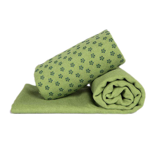Indoor Sport Non-slip Yoga Sheet Blanket Yoga Towel Yoga Accessory 183 CM * 63 CM-Green B