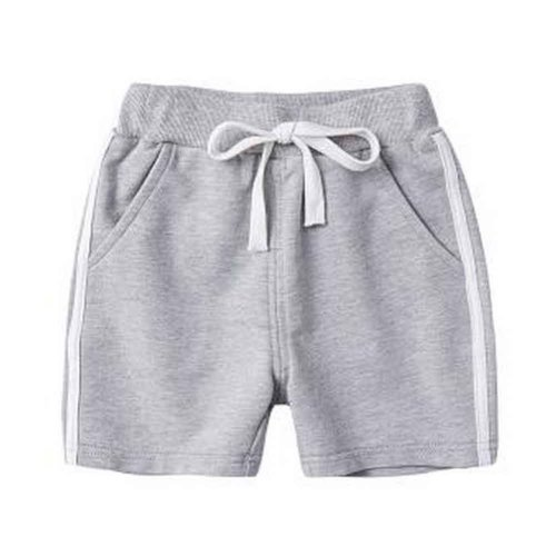 Baby Boy Short Pants Cute Short Pants for Summer Suitable for 120cm [B]