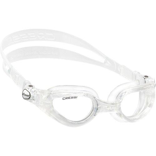 Cressi Right Swim Goggle (Clear, Large)