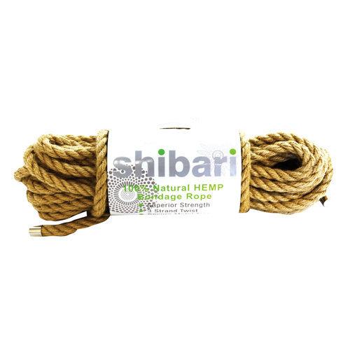 Shibari Hemp Bondage Rope - 10 meters