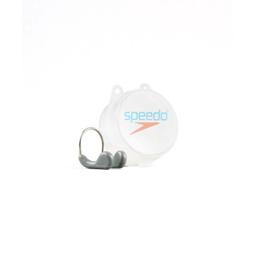 Speedo Unisex Adult Competition Nose Clip, Graphite, One Size