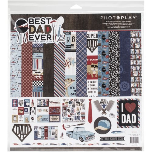 """Photoplay Collection Pack 12""""X12""""-Best Dad Ever"""
