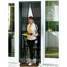 Buzz Away Self-Close Insect Door Screen 102 x 220cm   Magnetic Fly Screen