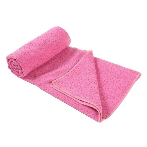 [A] Non-Slip Yoga Towel Sweat Absorbent Yoga Mat Towel Yoga Blanket
