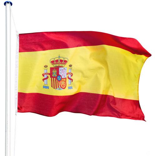 Flagpole aluminium Spain