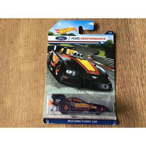 Hot wheels 2016 Ford Performance Mustang Funny Car #5/8