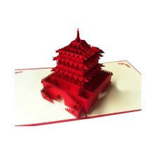 Exceptional Greeting Cards Invitation Cards Three-Dimensional Birthday Card