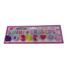 Childrens Mini Erasers - Rosie