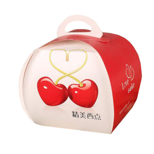 100PCS Cute Boxes With Handle For Pack Candies,Cake,Other Gift,in Party,Birthdays,and other Events,K