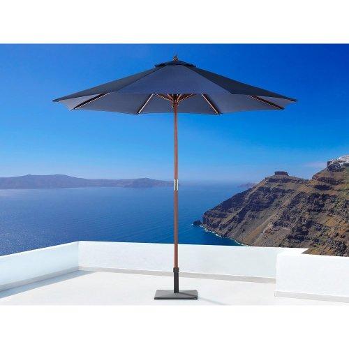 Garden Parasol - Patio Umbrella - Wooden - 270 cm -   - TOSCANA II