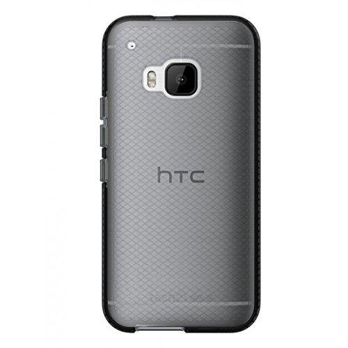 Tech21 Evo Check Smokey Black Cover for HTC One M9 Fitted Case Shell