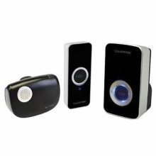 Lloytron 32-Melody Plug-In Wireless Door Chime with MiPs - Black (B7506BK)