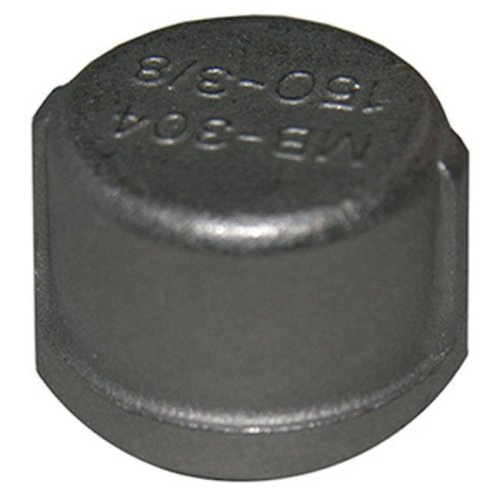 United Solutions 209851 0.125 in. Stainless Steel Pipe Cap