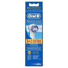 Genuine Original Official Oral-B Precision Clean Electric Toothbrush Replacement Brush Head (Individually Wrapped with No Main Outer Retail Packaging)